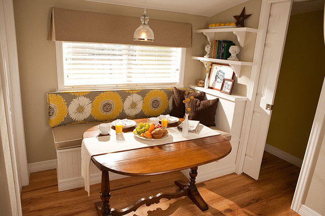 Marion Street Dining Nook traditional-kitchen