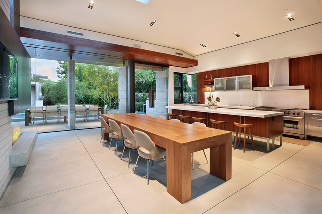 Mark Singer Architect contemporary-kitchen