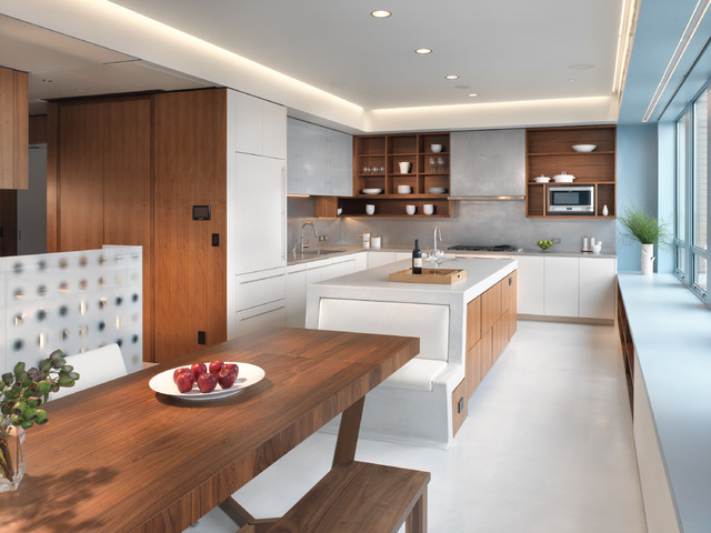 Market Street Penthouse Kitchen modern kitchen