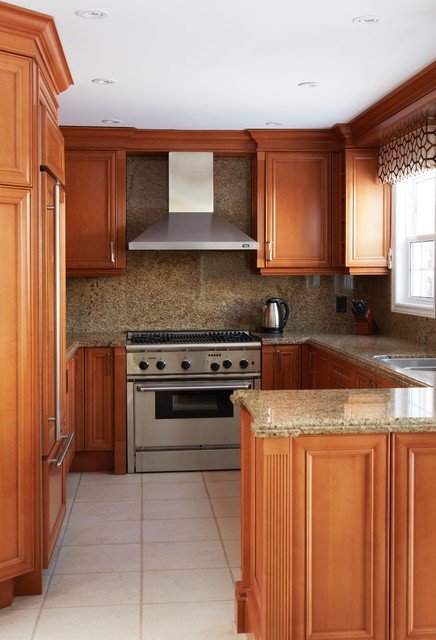 Markham Makeover - Transitional - Kitchen - toronto - by M-Squared ...