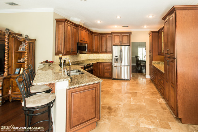 Markowitz Waypoint Zelmar Kitchen Remodel Traditional Kitchen Orlando By Zelmar