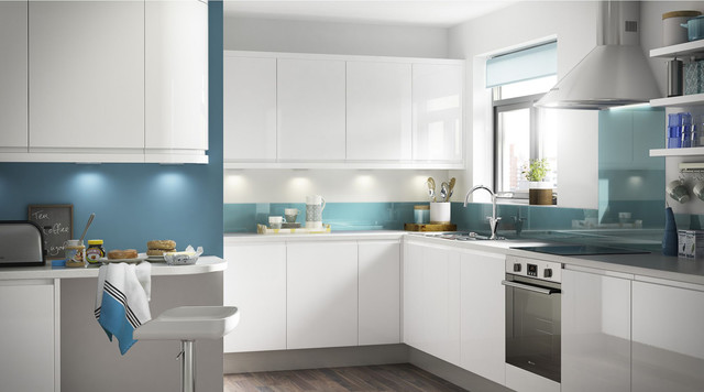Marletti Gloss White Kitchen