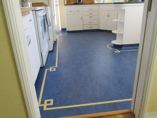 Marmoleum Kitchen Traditional Kitchen Sacramento