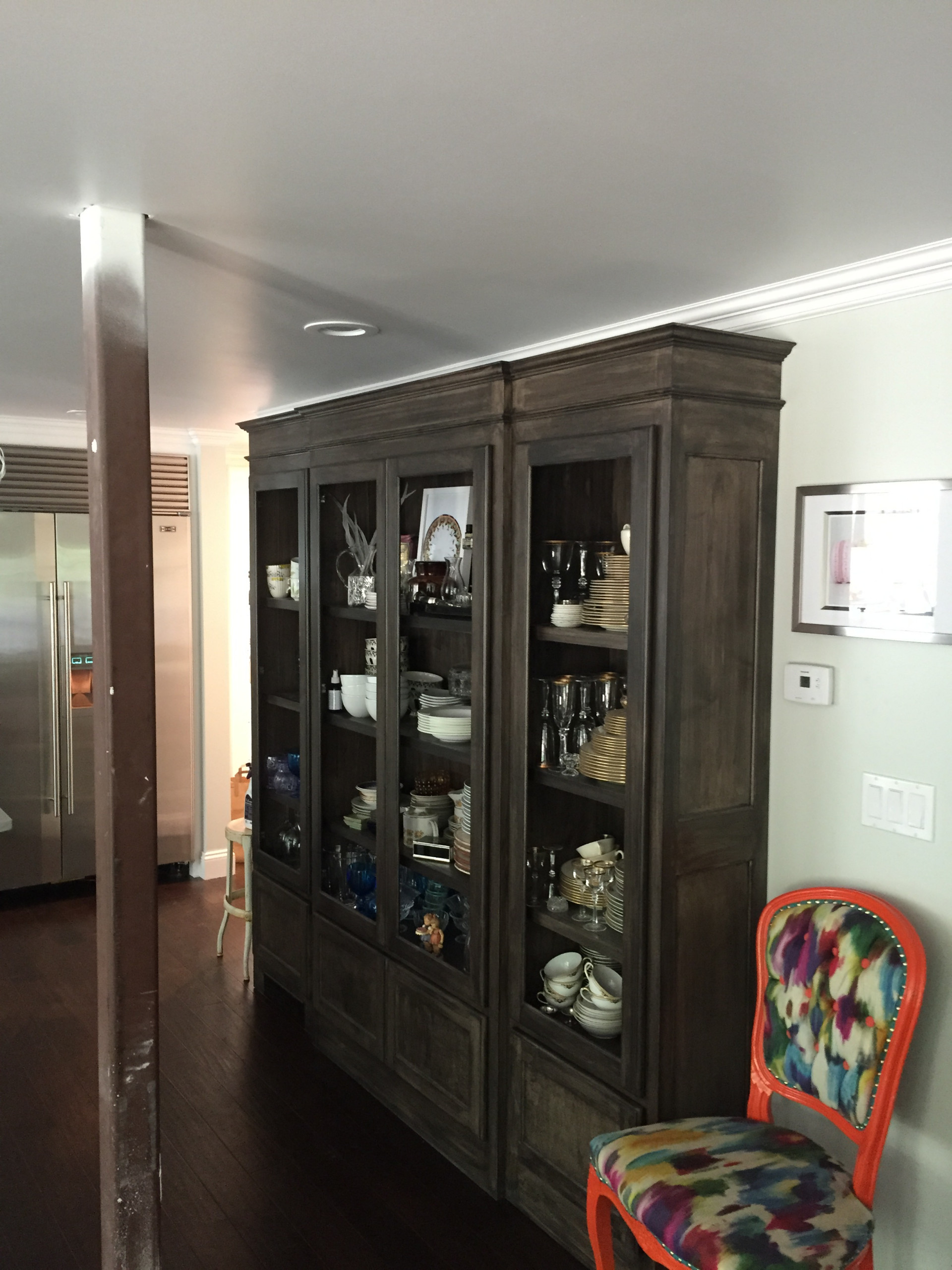Maroon Cabinetry