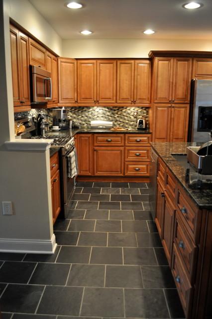 Marquis Cinnamon Kitchen with Center Island traditional-kitchen