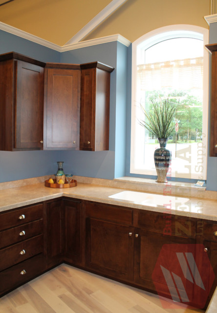 Marquis nautical kitchen at zeeland lumber supply for Kitchen cabinets zeeland mi