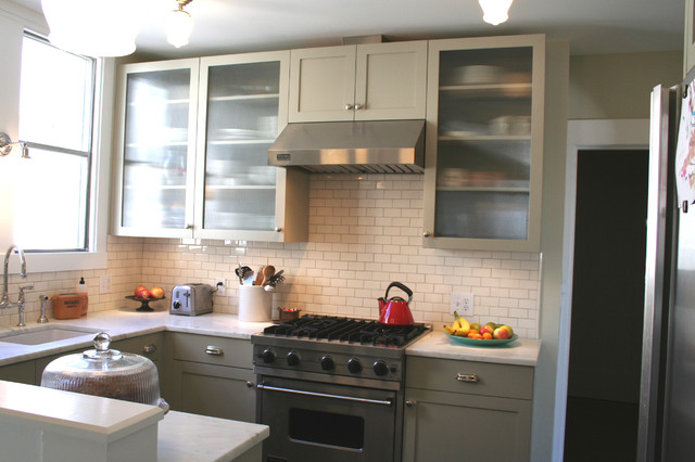 Marrying the traditional to the modern traditional-kitchen