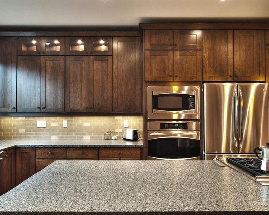 12,481 Kitchen Design Photos with Stainless Steel Appliances, Dark