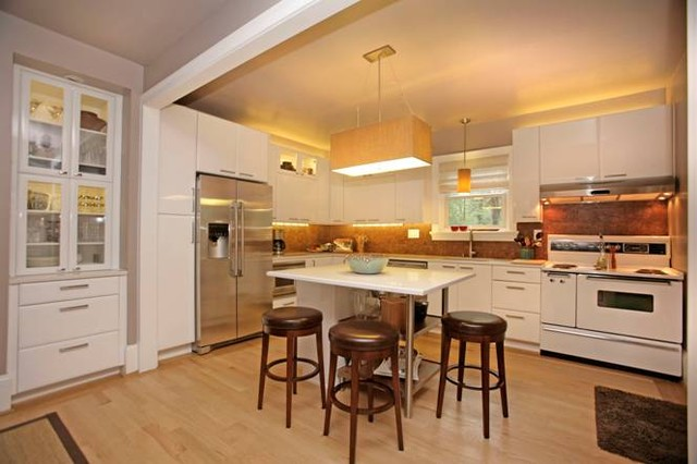 Marten and Maples Residence modern-kitchen