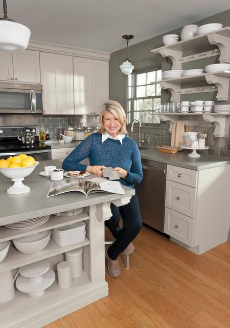Martha\'s Maine Remodel - Farmhouse - Kitchen - New York - by Martha ...