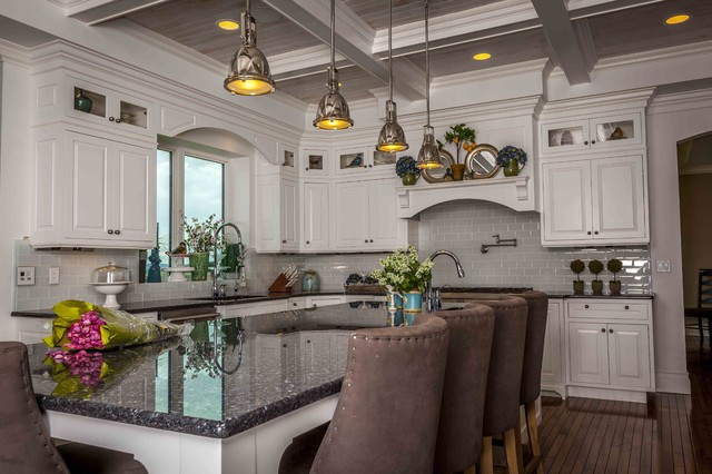 traditional kitchen by Darryl Vaughn- Kitchen & Bath ReStylers