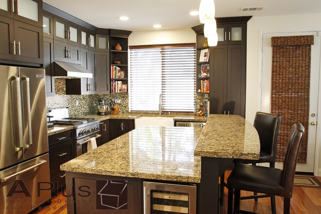 Martinez Contemporary Kitchen Orange County By Aplus Interior Design Remodeling