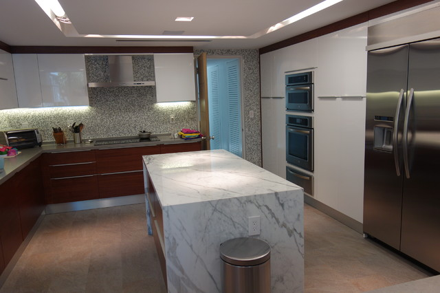 Martinez Contemporary Kitchen Miami By Home Design Center Of Florida