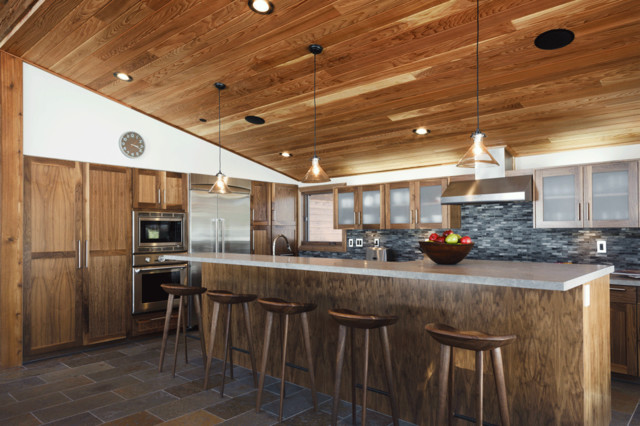 Martis Camp 246 Rustic Kitchen San Francisco By