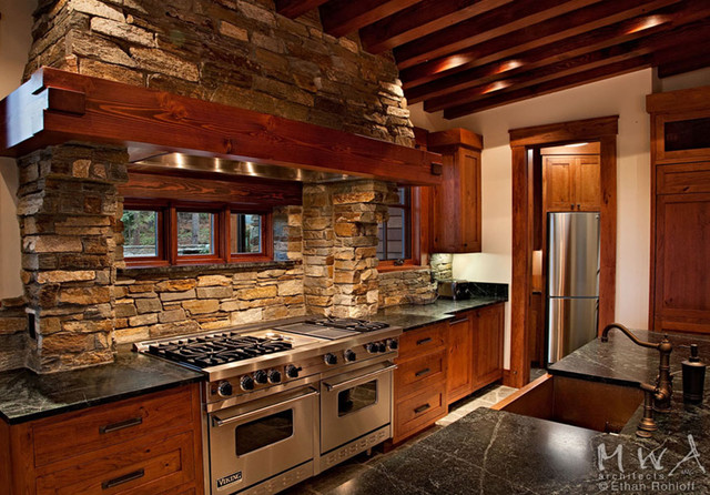 Martis Camp - 77/78 craftsman-kitchen