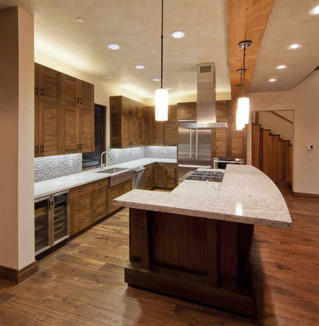 Martis CAmp Residence contemporary-kitchen