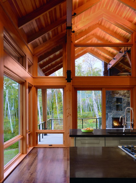 Marvin Ultimate Casement Windows Modern Kitchen