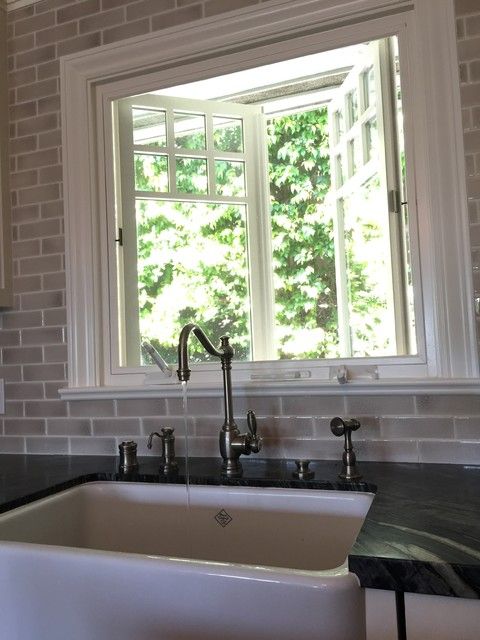 Install Kitchen Sink Bay Window