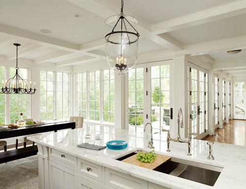 Beautiful kitchen, windows, etc. Please share name, model, sink ...
