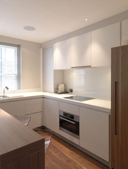 Marylebone Apartment - London contemporary-kitchen