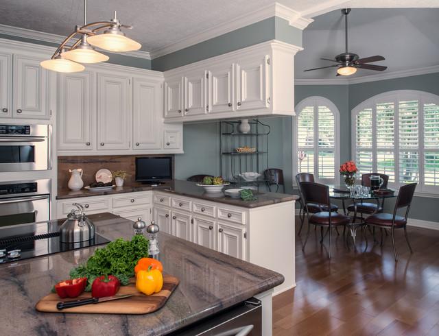 Maryott Custom Interiors transitional-kitchen