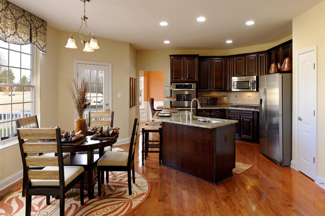 Mason 39 S Landing Chelsea Contemporary Kitchen Dc Metro By Beazer Homes Maryland Virginia