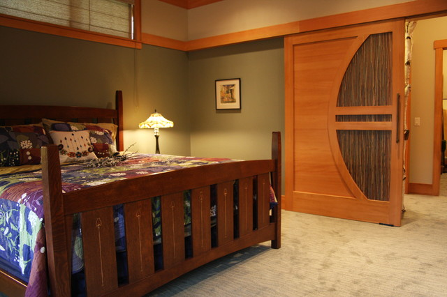 Master Bedroom Barn Style Sliding Door Contemporary Kitchen Other Metro By Water 39 S Edge