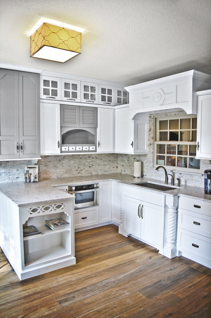 Master Plan Design Showroom Traditional Kitchen