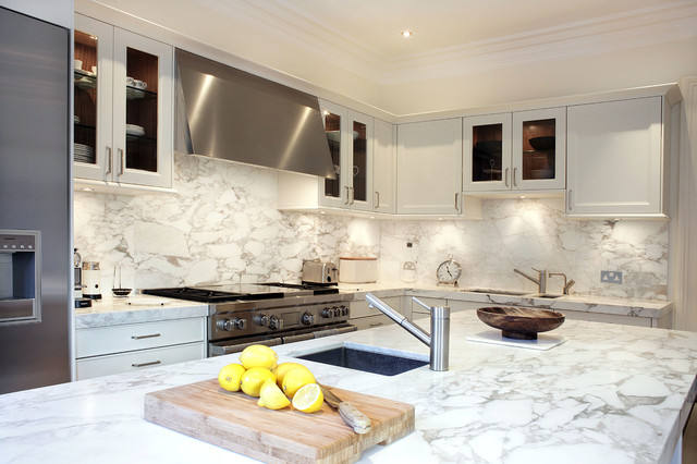 Matrix Kitchens_Chelsea, London contemporary-kitchen