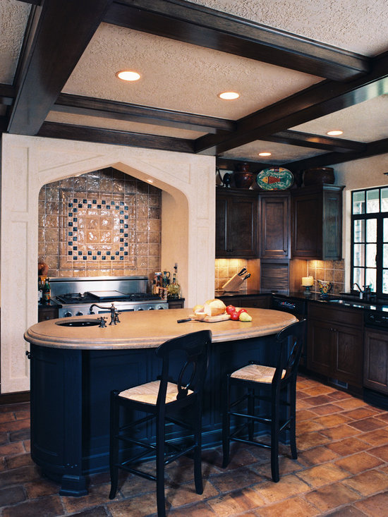 Oval Island Home Design Ideas, Pictures, Remodel and Decor