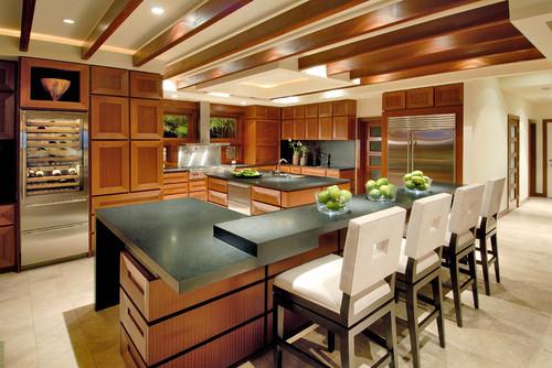 Maui 3 modern kitchen