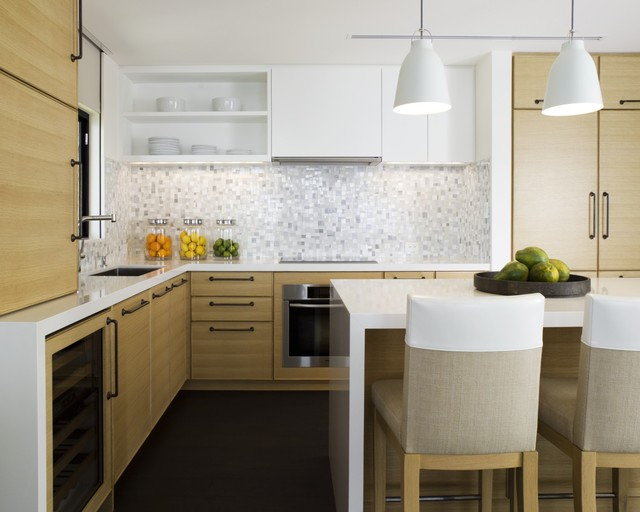 Maui condo contemporary kitchen hawaii by leverone for Kitchen design hawaii