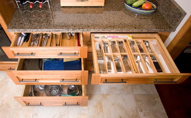 Maximum Impact Minimum Space Traditional Kitchen