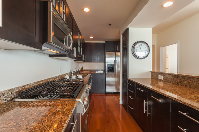 Maxwell Place contemporary-kitchen