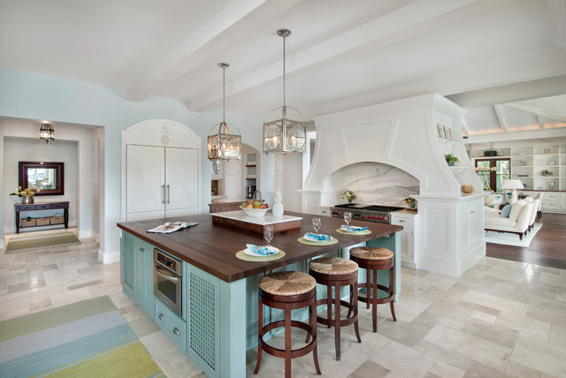 May 2016 Southwest Florida Edition - Beach Style - Kitchen - Miami ...