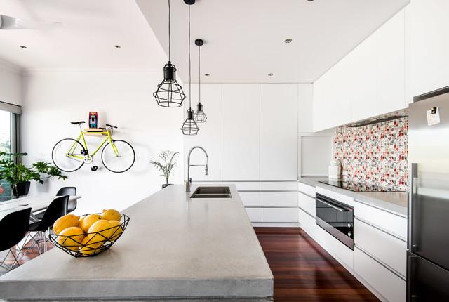 Maylands renovation contemporary-kitchen