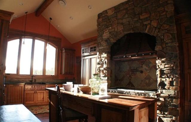 Maysville Builders traditional-kitchen