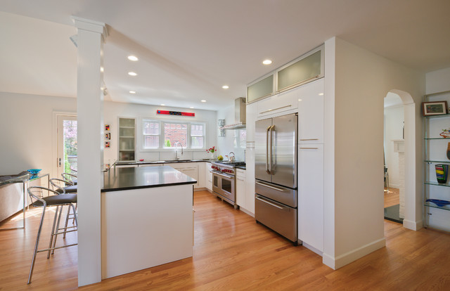 Maywood Ave Home Ann Arbor Contemporary Kitchen Detroit By Studio Z Architecture