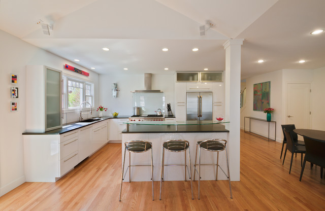 Kitchen Island With Columns opening the kitchen? make the most of that support post