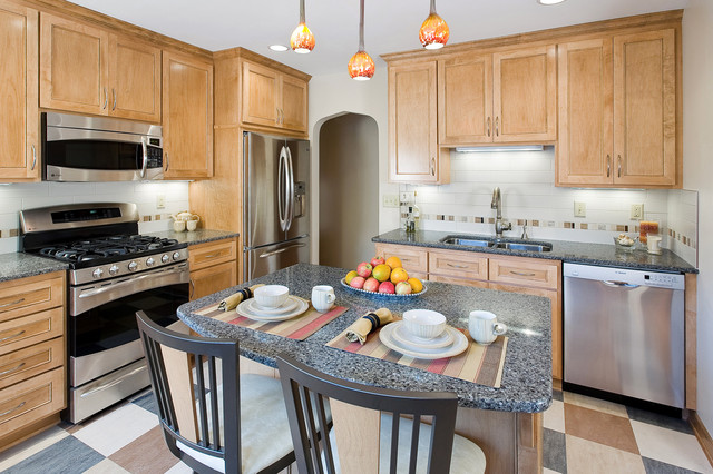 Mbros's Kitchen Remodels traditional-kitchen