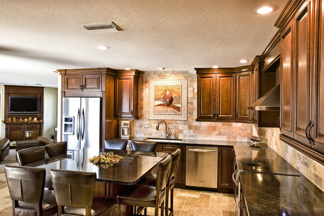 McClure Contracting, Inc. traditional-kitchen
