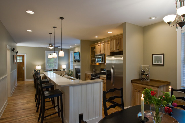 McCoy Cove traditional-kitchen