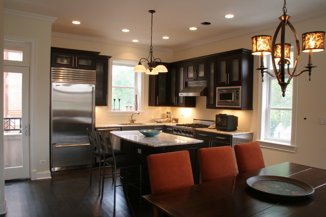 McHugh Homes Custom Kitchens Kitchen Chicago by