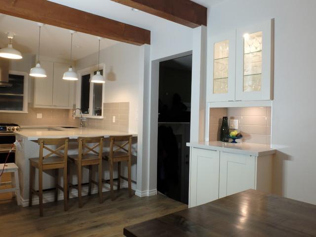 McHugh Residence transitional-kitchen
