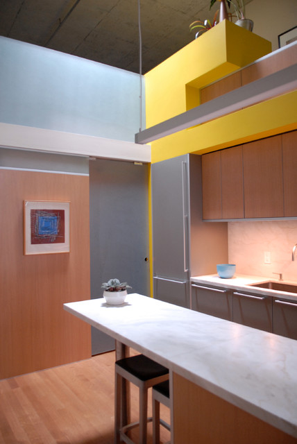 Mckenzie Loft San Francisco Modern Kitchen San