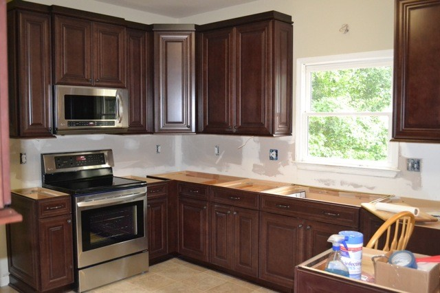 McKinley Cherry In Bordeaux Finish From Shenandoah Cabinetry ...