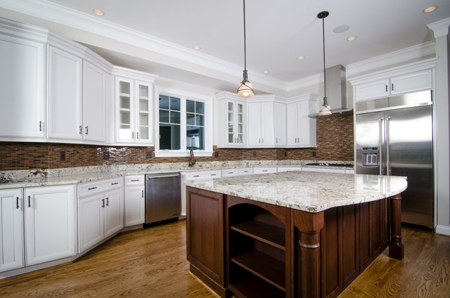 McLean Custom Home traditional-kitchen