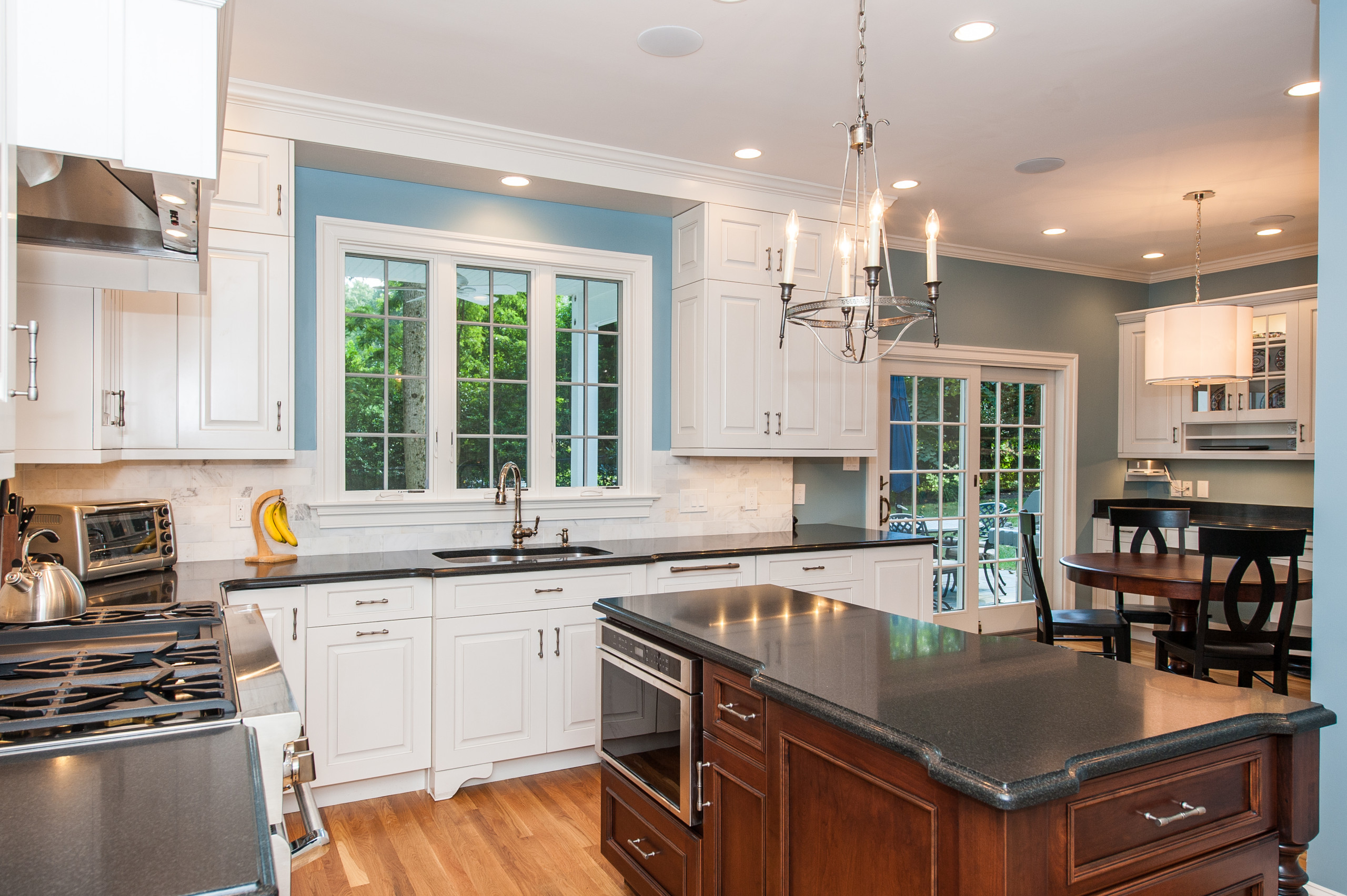 McLean VA Traditional Open Kitchen