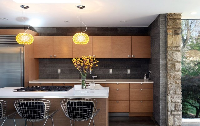MCM Redesign Midcentury Kitchen St Louis By Jacob Laws Interior Design