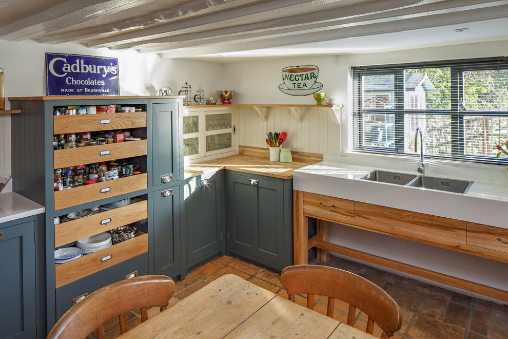 Meadow Cottage Kitchen Farmhouse Other By Price Cabinet Makers Ltd Houzz